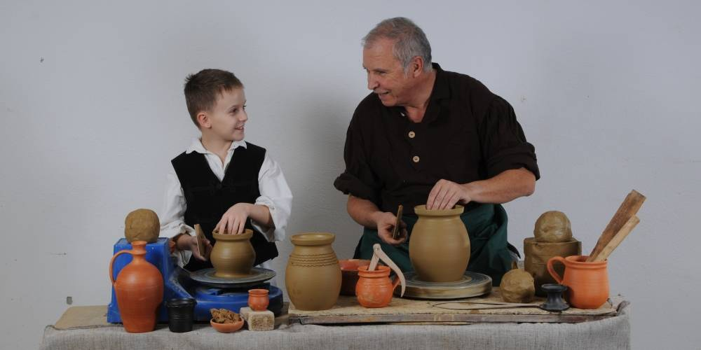 Pottery, an ancient craft